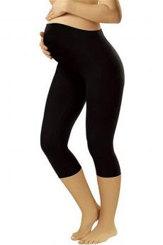 Для беременных Leggins short black